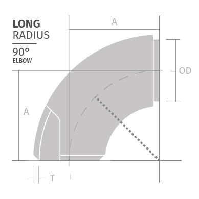 Curve saldate inox alte temperature Era Fittings LONG-RADIUS