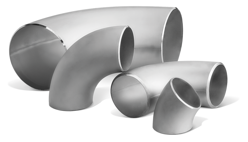 Stainless steels welded elbows